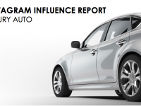 Instagram Influence Report – Luxury Auto Brands