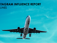 Instagram Influence Report – Airlines