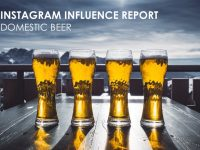 Instagram Influence Report – Domestic Beer