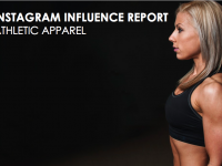 Instagram Influence Report - Athletic Apparel