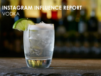 Instagram Influence Report - Vodka