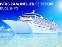 Instagram Influence Report: Cruise Ships