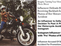How Influencer Authenticity Went Too Far with a Motorcycle Crash