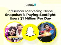 Influencer Marketing News: Snapchat is Paying Spotlight Users $1 Million Per Day