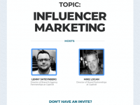 Clubhouse: Weekly Influencer Marketing Discussion