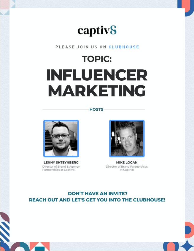 Clubhouse Influencer Marketing