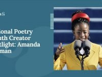 National Poetry Month Creator Spotlight: Amanda Gorman