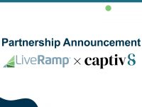 Captiv8 and LiveRamp Team Up To Turn Brands' First-Party Data into Scalable Influencer Campaigns