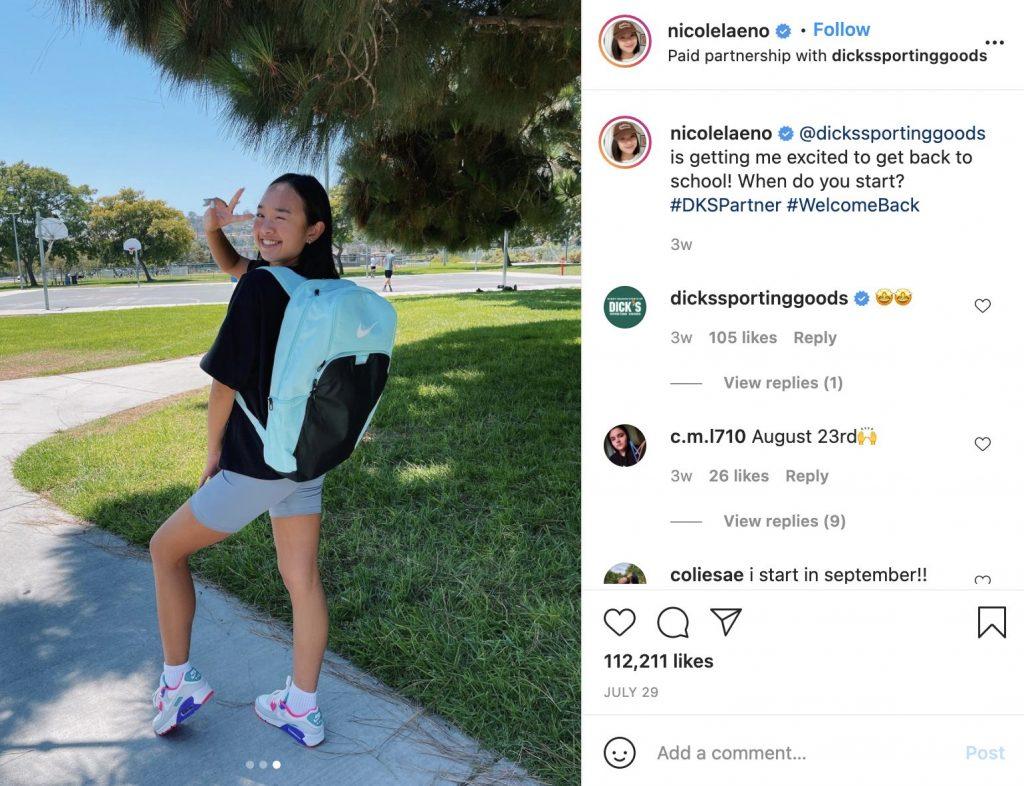 Nicole Laeno Back to School