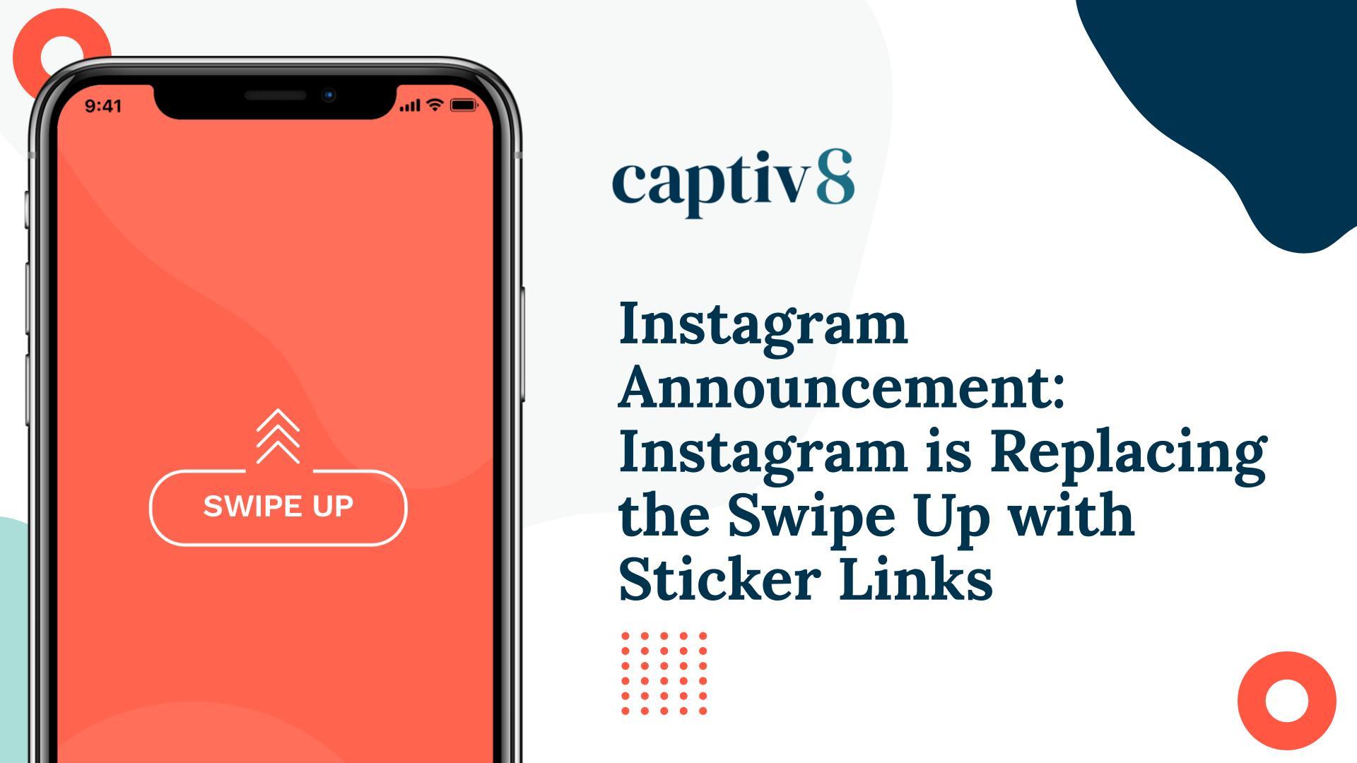 Instagram Announcement Sticker Links